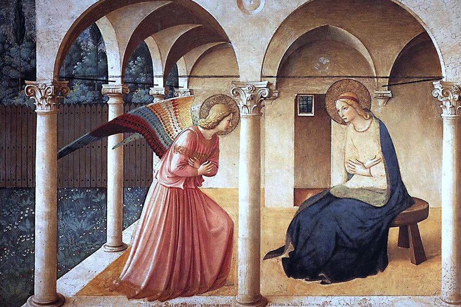 Annunciazione  (1437-46) af Fra Angelico