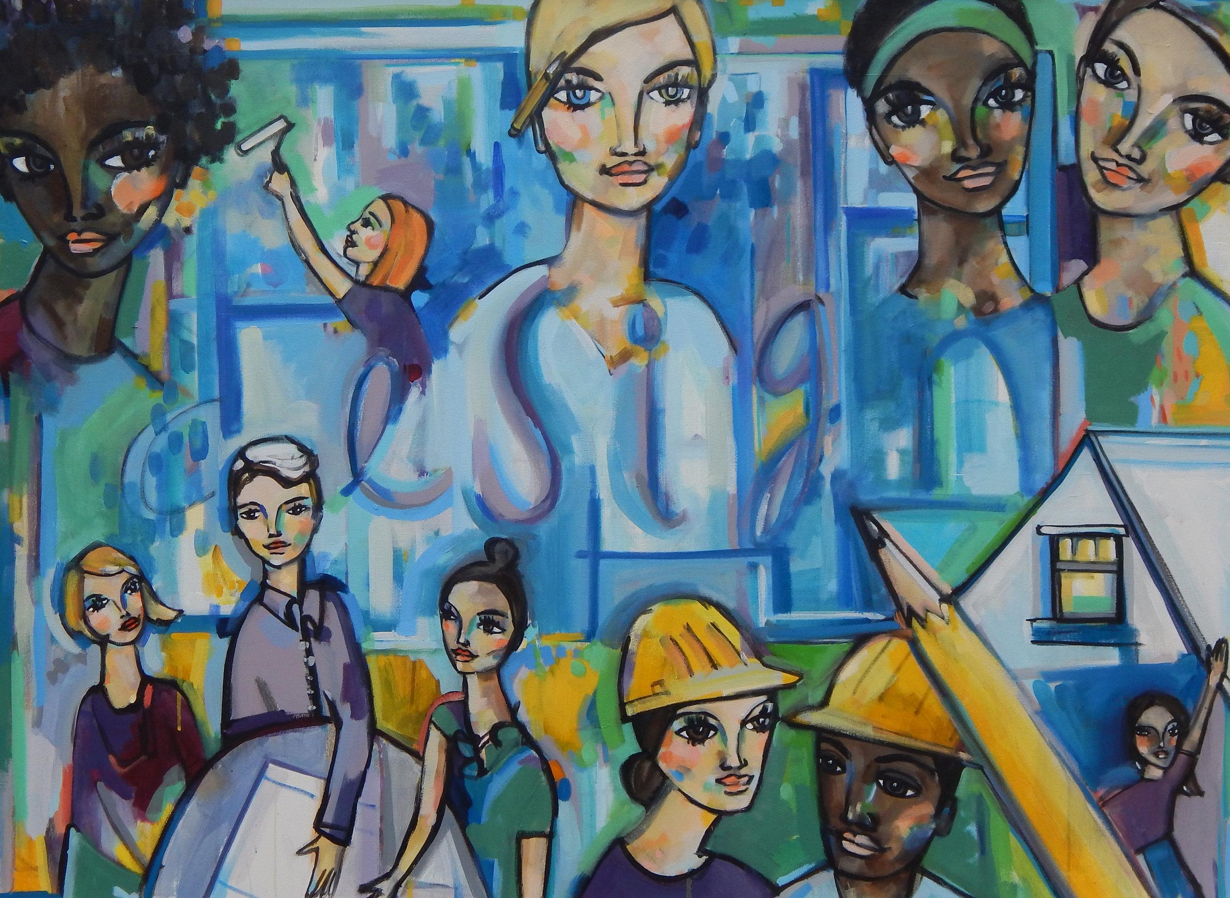 Painting by  Bekah Ash
