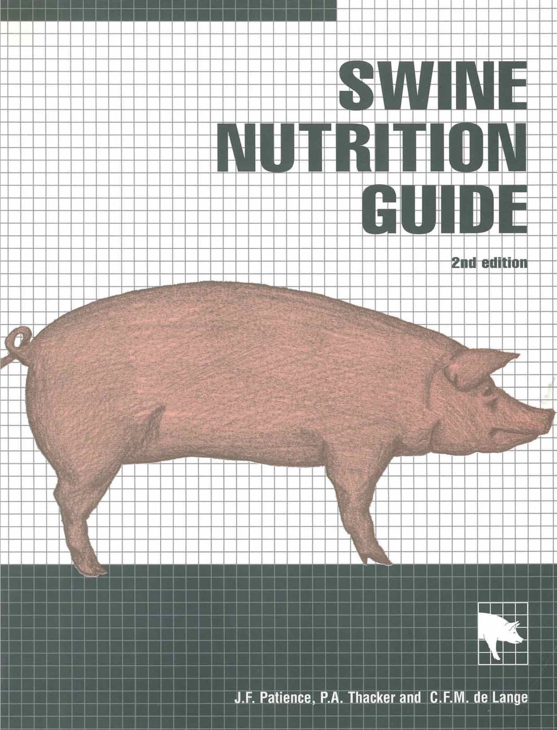 Swine Nutrition Guide - 2nd edition