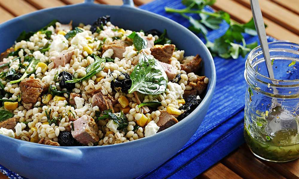 Barley-Salad-with-Dried-Cherries-Feta-Grilled-Pork-Sautéed-Spinach.jpg
