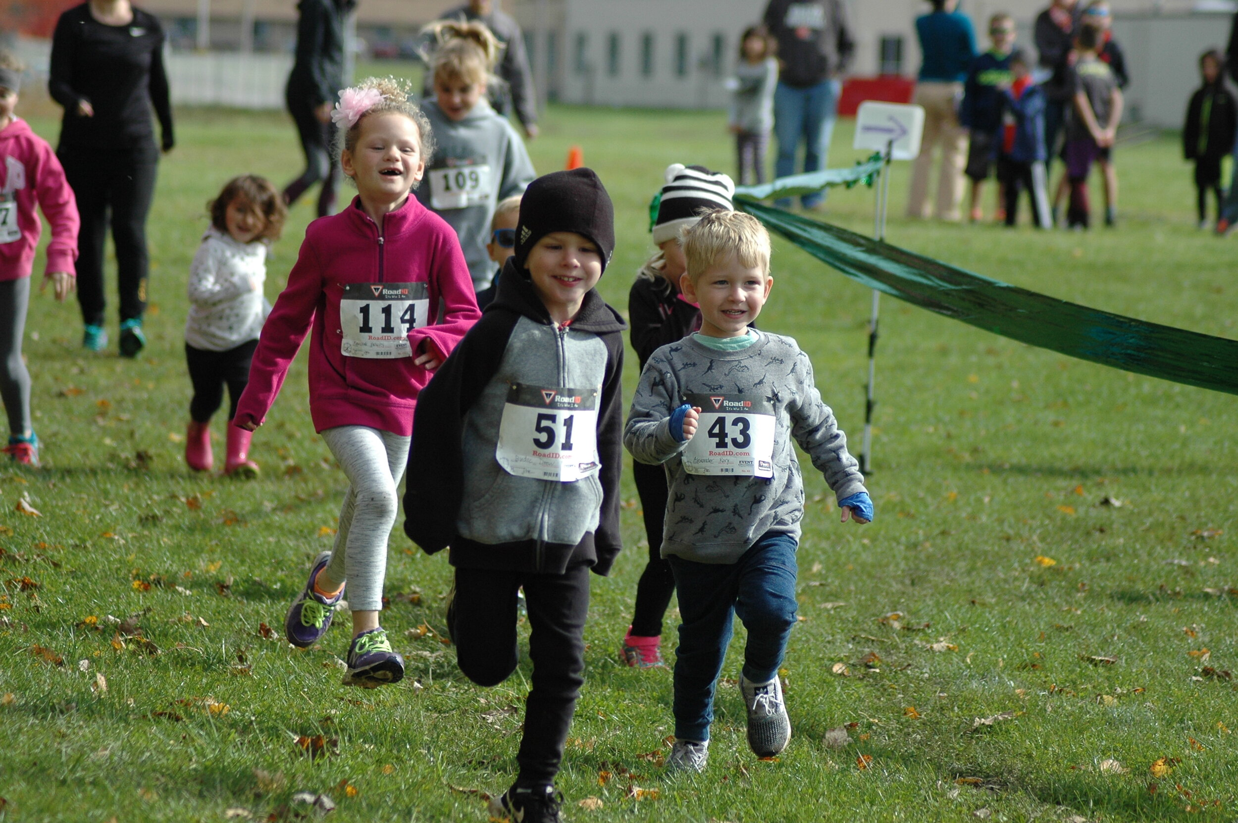 """We really mean it when we call it a """"Fun Run""""!"""