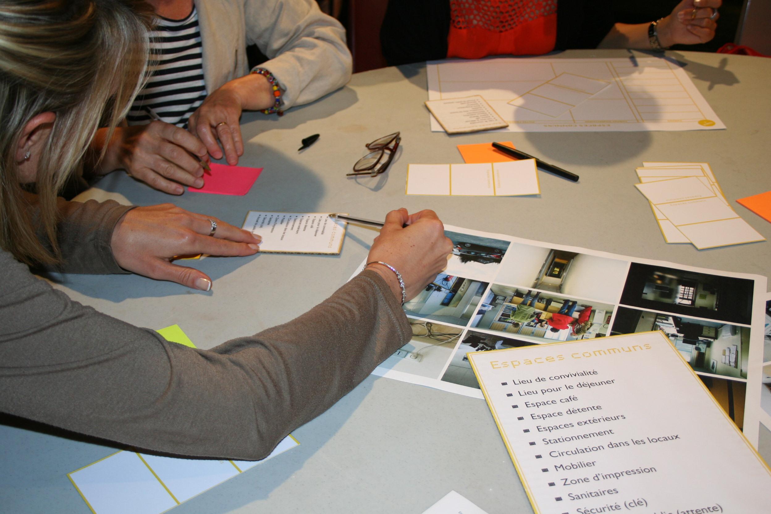 Co-design services hôtel de ville