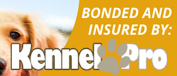 bONDED AND INSURED BY KENNEL PRO