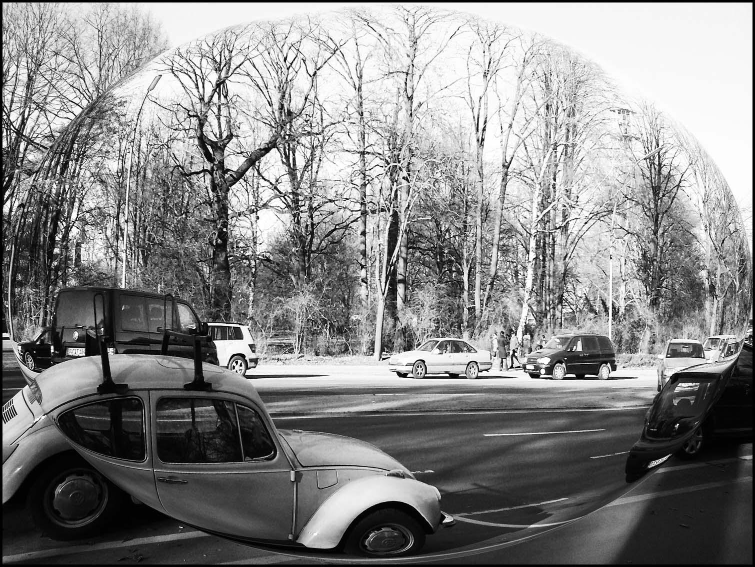 B&W VW Beetle