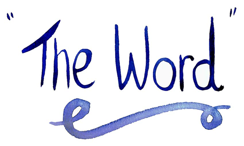 THE WORD email newsletter image