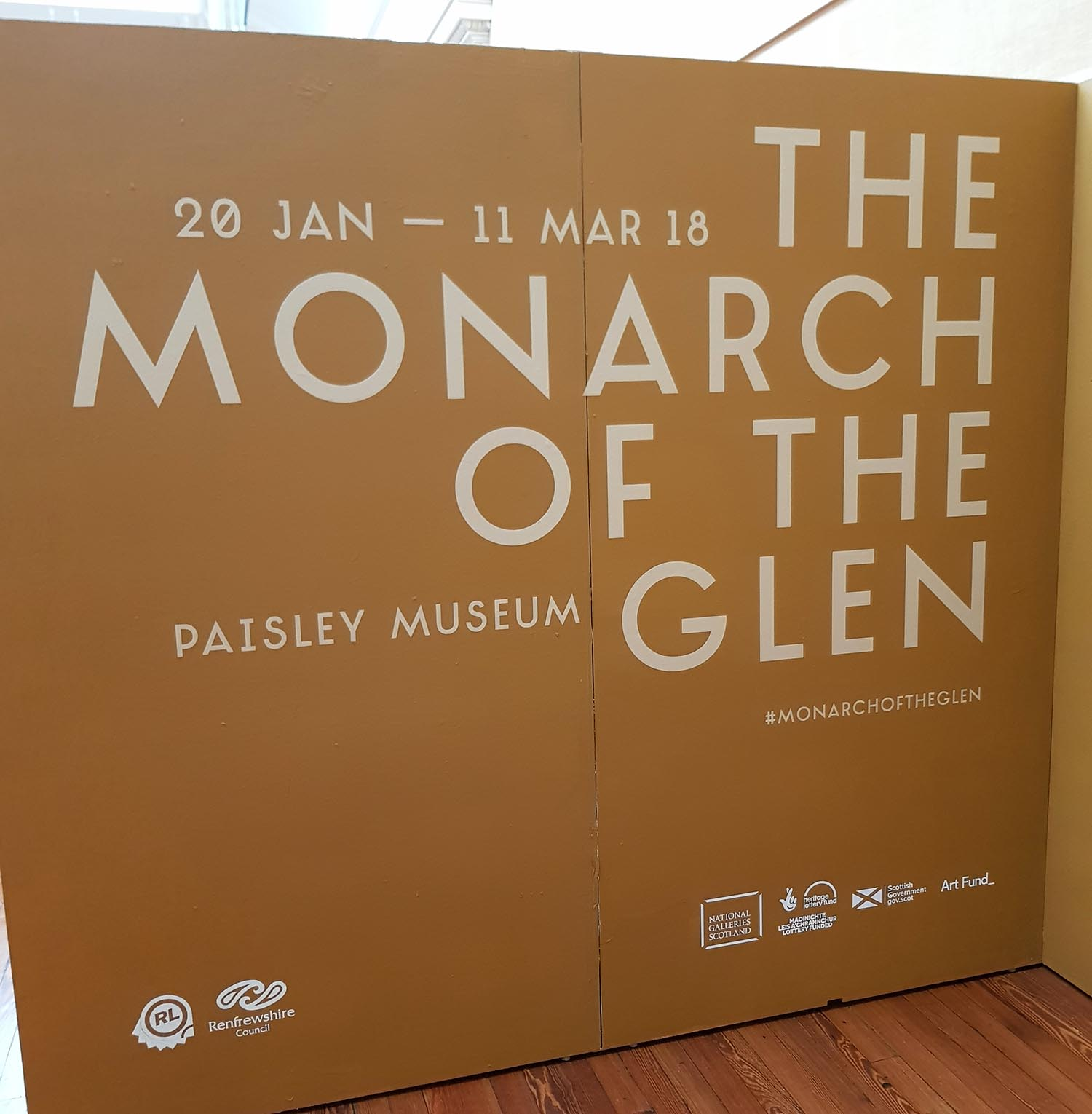 The Monarch of the Glen, Paisley Museum