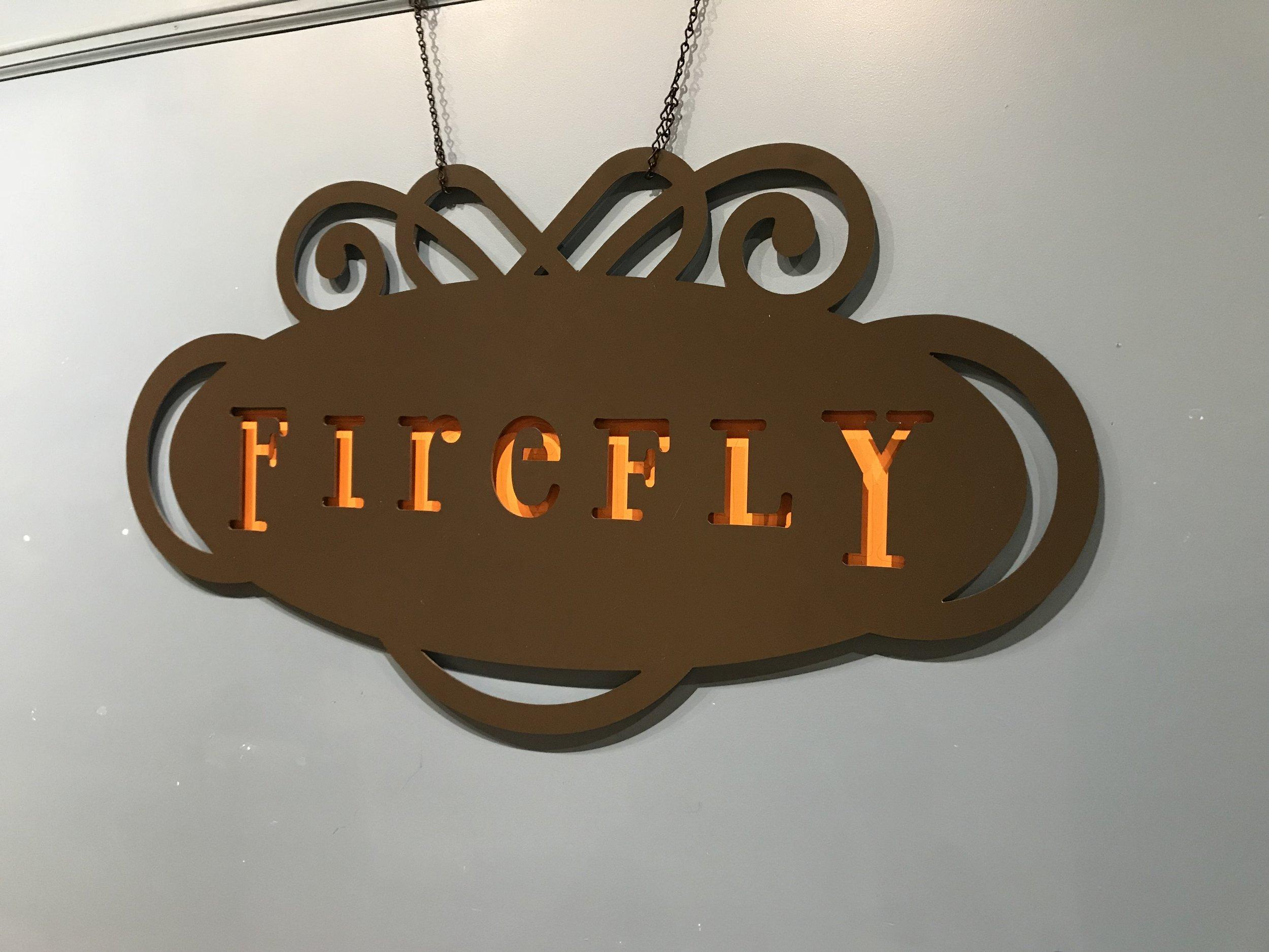Firefly Coffee House - Oregon, Wi  Size - 2' x 4'