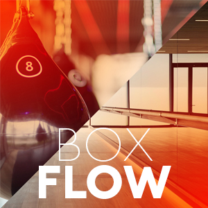 BOX & FLOWEqual parts of adrenaline and zen. Pound the bags before melting into quality flow sequence. -
