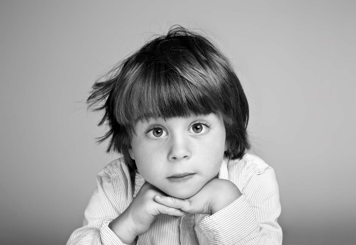 Portrait photography of Oliver