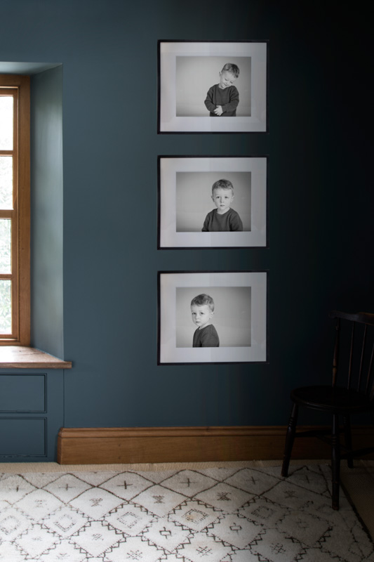 The Small as a Triptych frame series
