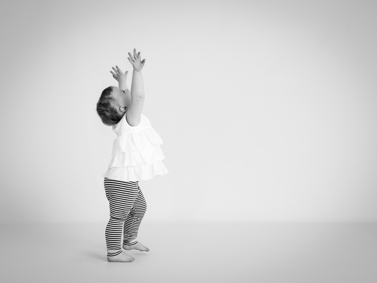 Copy of Toddler stretching high