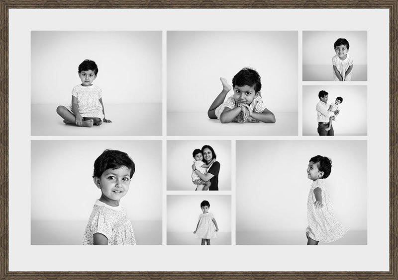 Floating-Contact-Sheet, child portraiture Nousha Photography