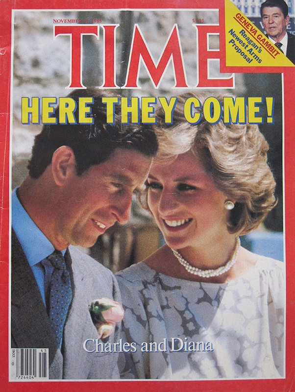 Diana princess of Wales, Time magazine cover, Nousha Photography