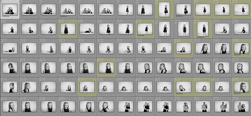 The edit, child portraits, Nousha Photography