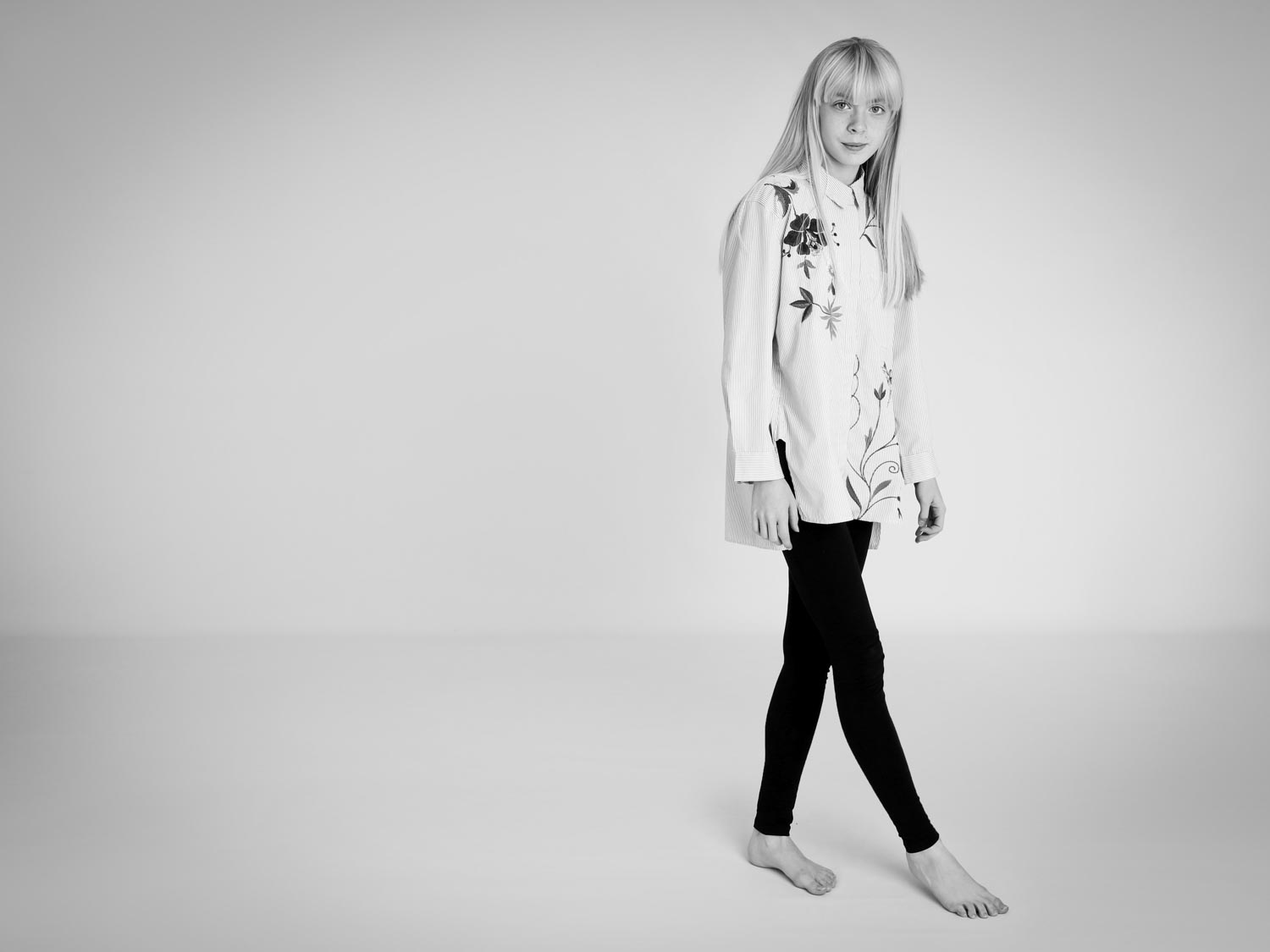 teenager in our london studio