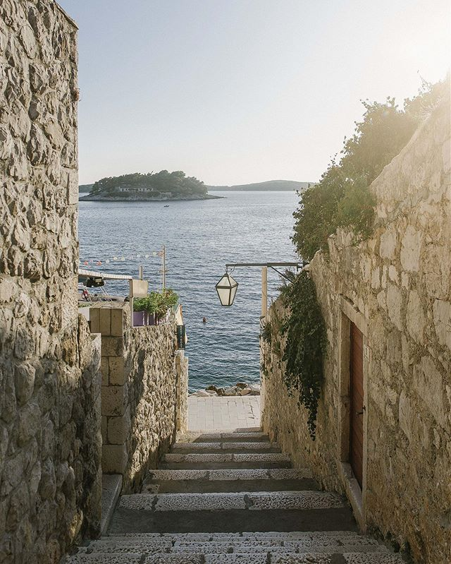 Here's a farewell to a place that started it all. Hvar was recently crowned as the best island in Europe by @condenasttraveller and we're proud to serve our coffees in kava37. If you haven't already visit us in Hvar next season. Over the winter we'll be brewing in kava2 in Split. Thanks for all the love&support (see the sign on the door on the second photo) :) #kava37 #kava2 #kavafamily