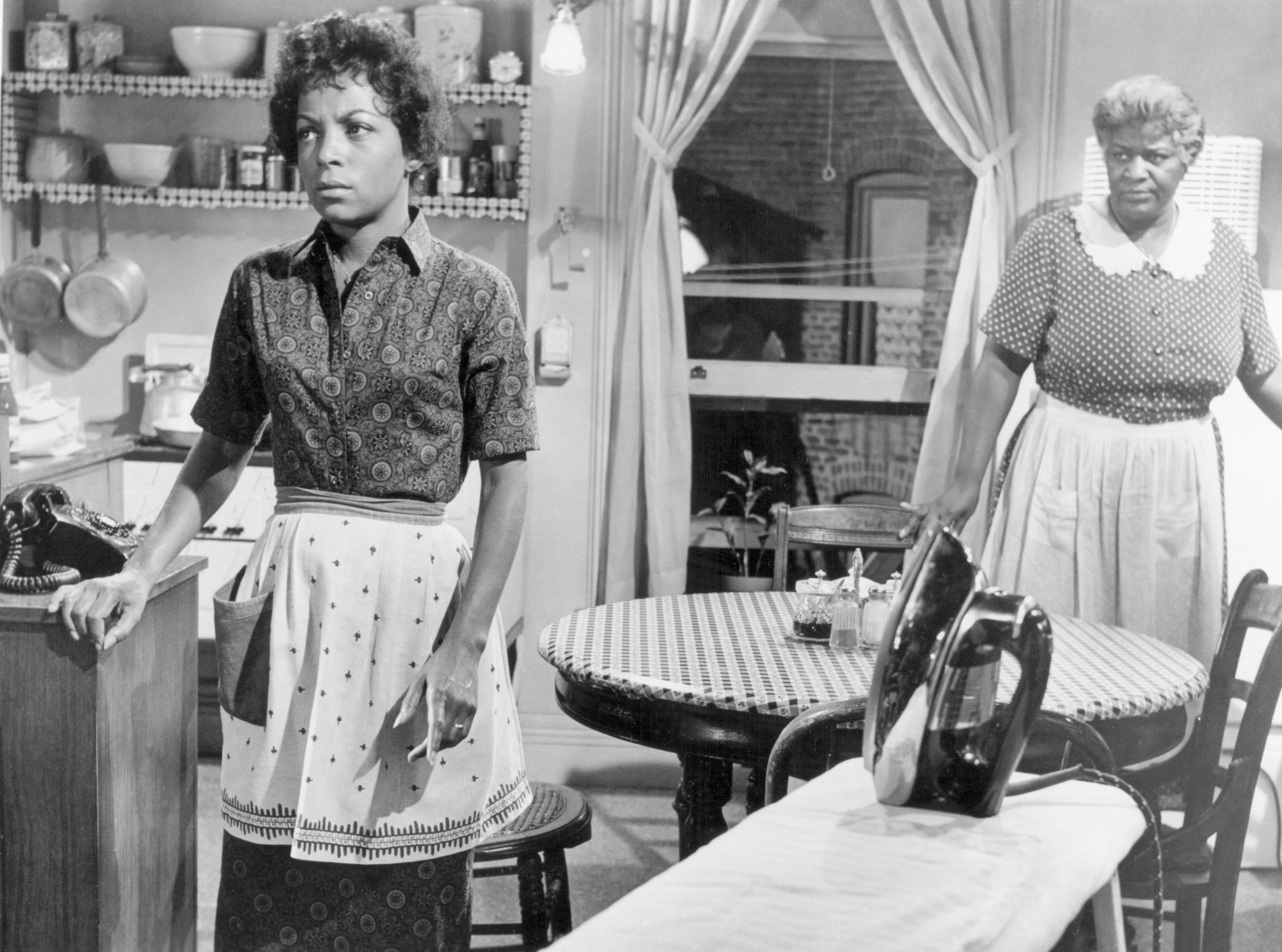 Claudia McNeil and Ruby Dee in  A Raisin in the Sun  (1961)