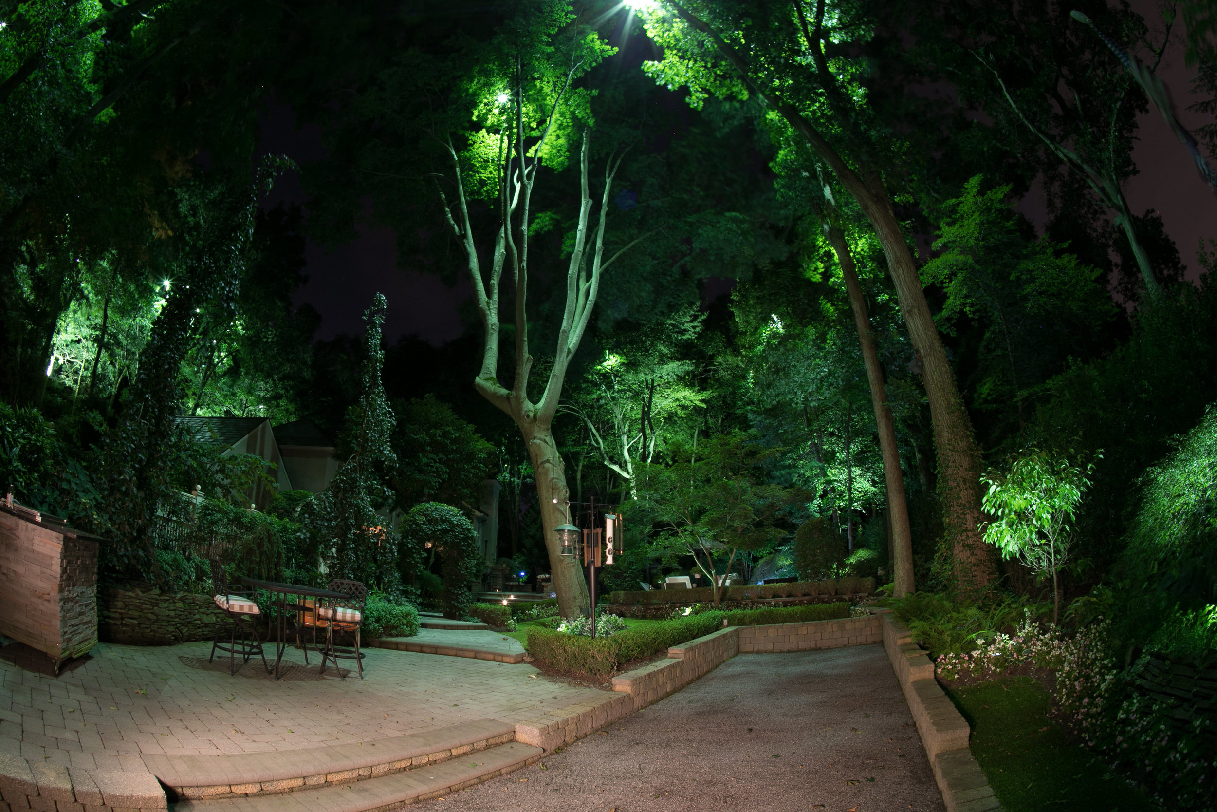Led landscape lighting design in New Jersey, NJ