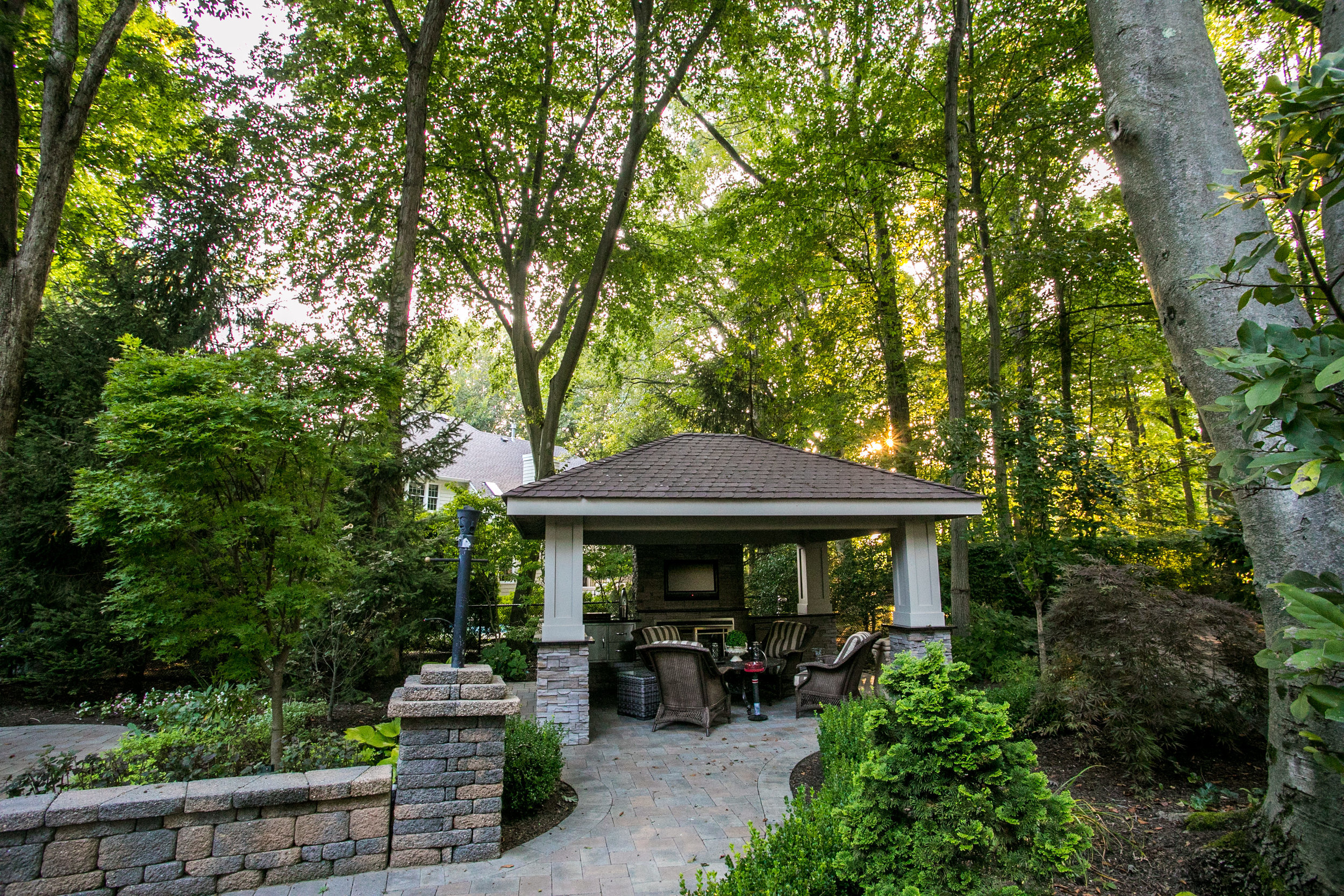 Patio design in New Jersey, NJ