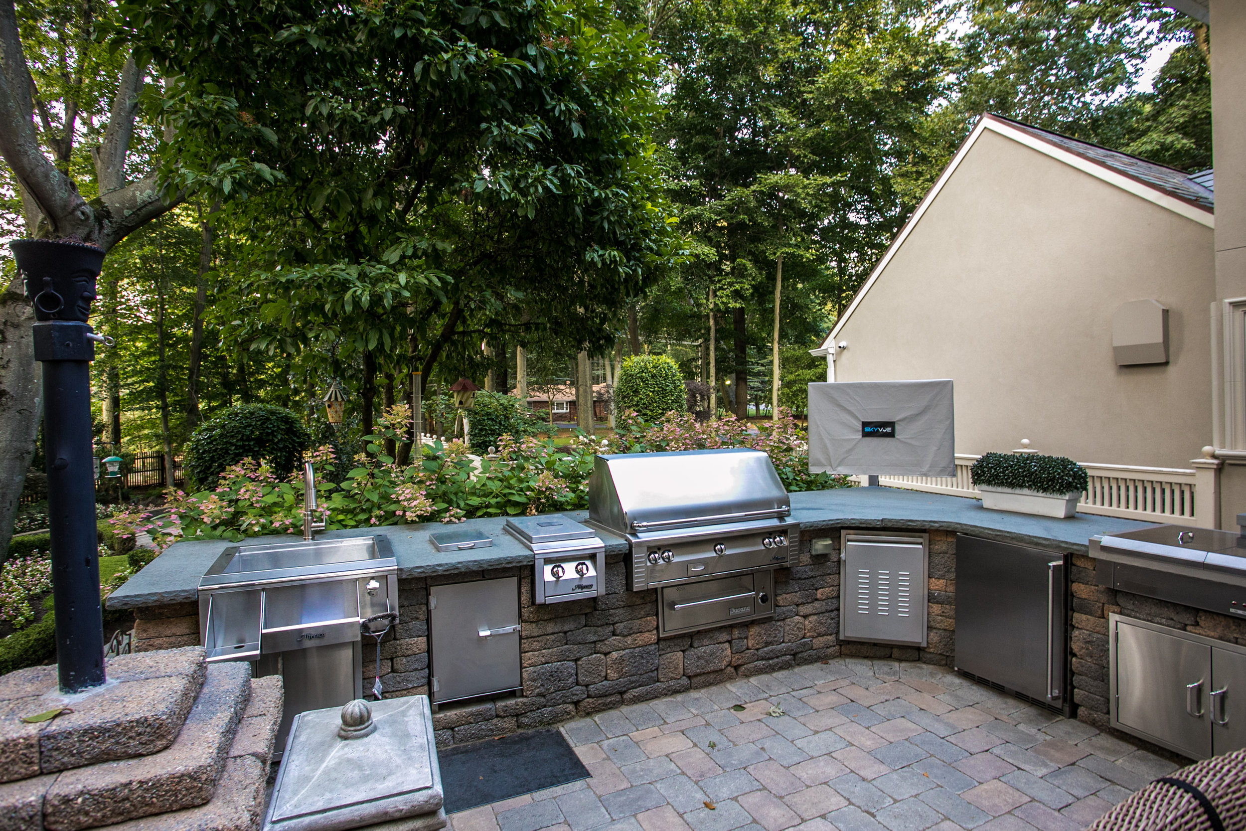 Outdoor kitchen in New Jersey, NJ