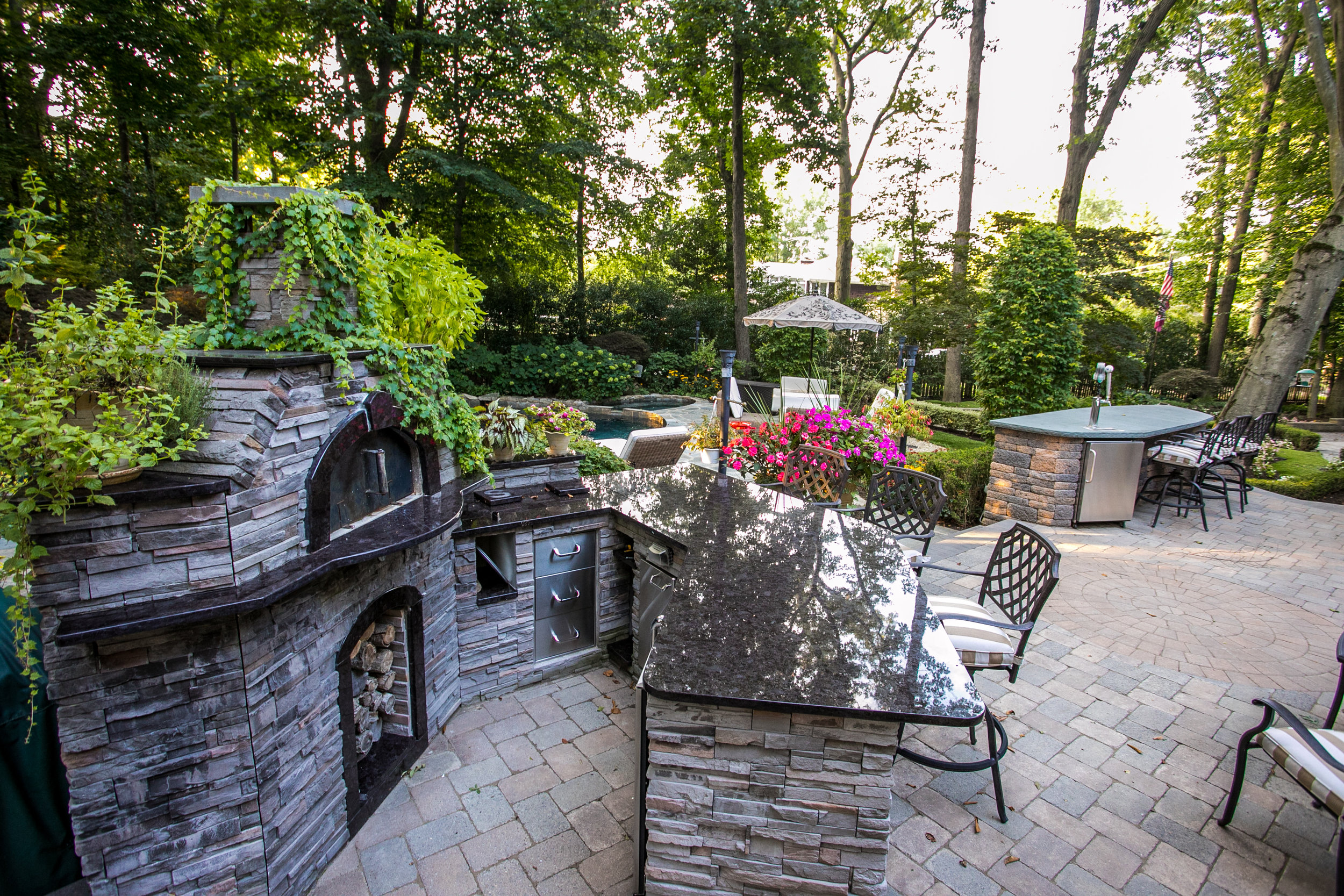 Outdoor living supply by Green Foundry on display in New Jersey, NJ