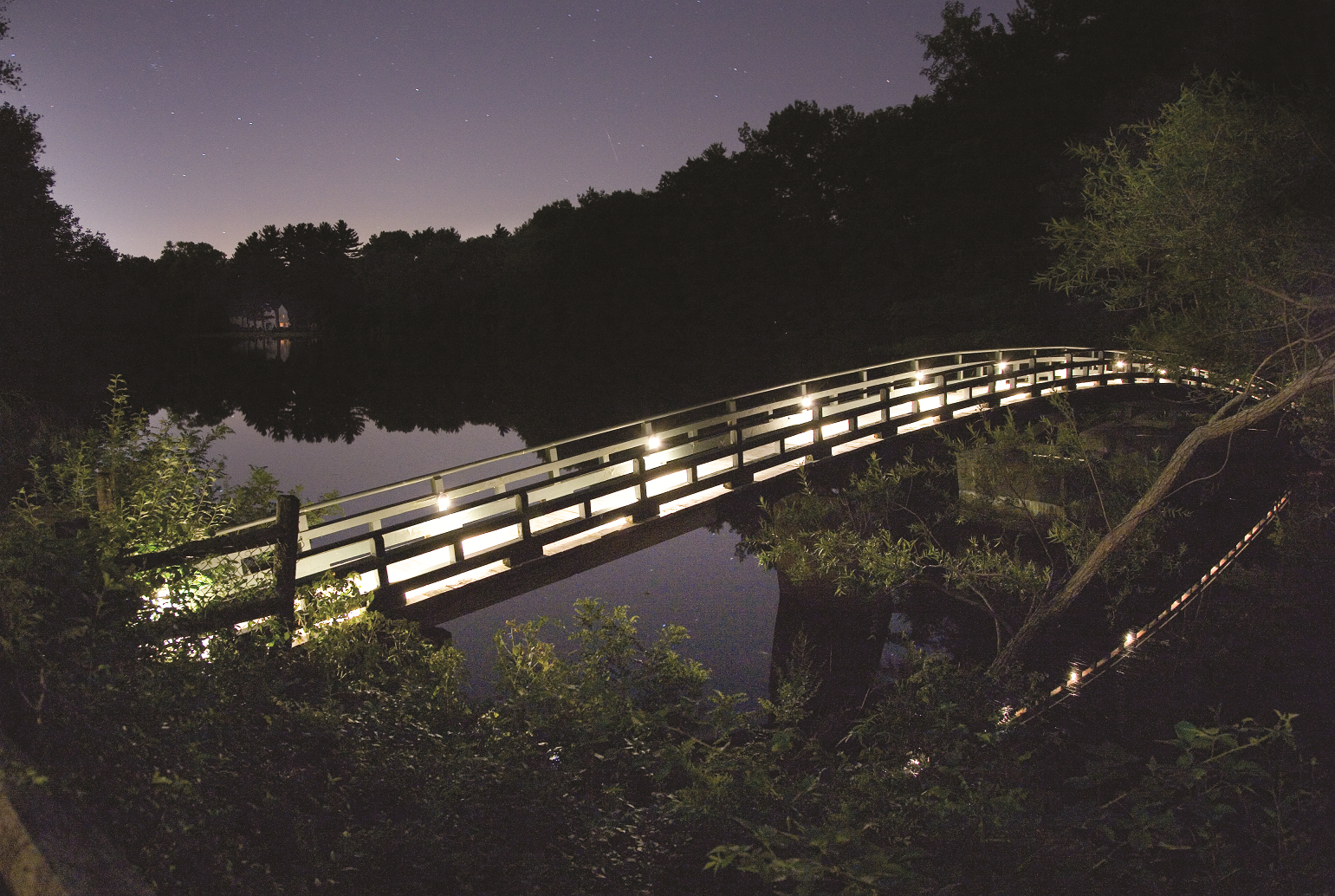 Outdoor lighting supply for a public space in New Jersey, NJ