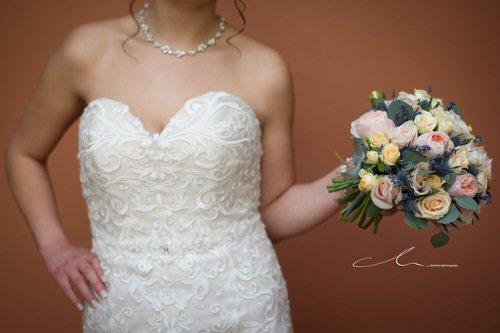 Jade's Beautiful bridal bouquet