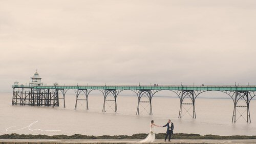 Just around the corner from us is the lovely Clevedon Pier.