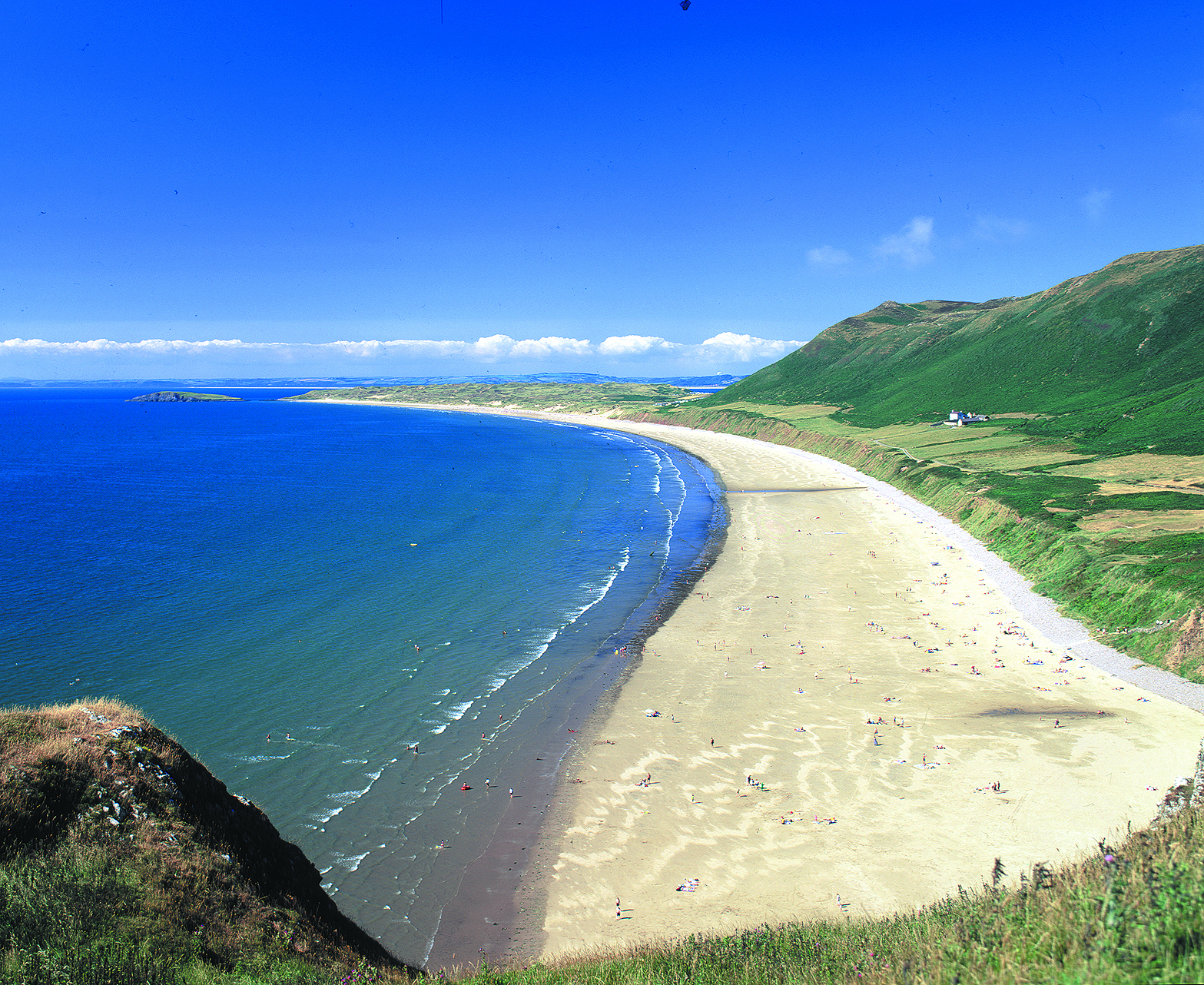 Gower Peninsula, Wales. Image courtesy of Visit Wales