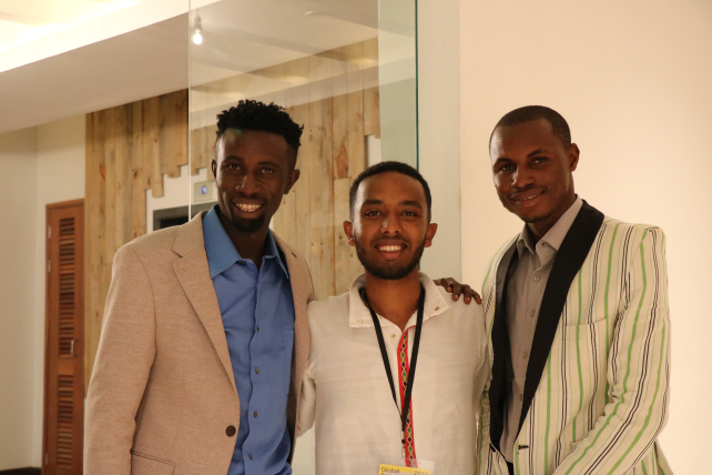 With Yared and Edouard