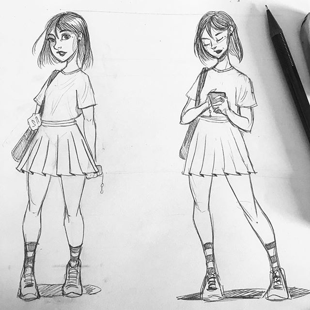 Creating some character design. #characterdesign #charactersheet #ilustrations #illustrationwork #drawingwithpencil