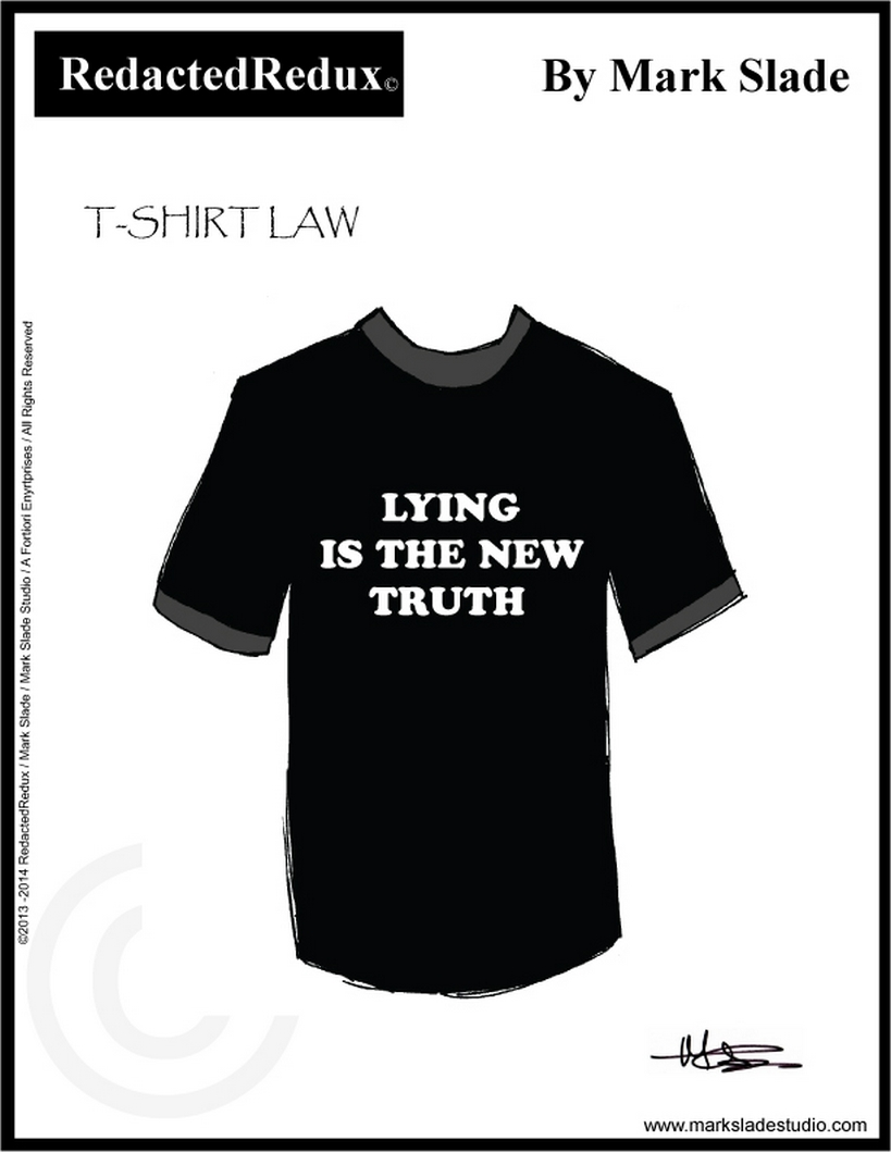 LYING IS THE NEW TRUTH - C043
