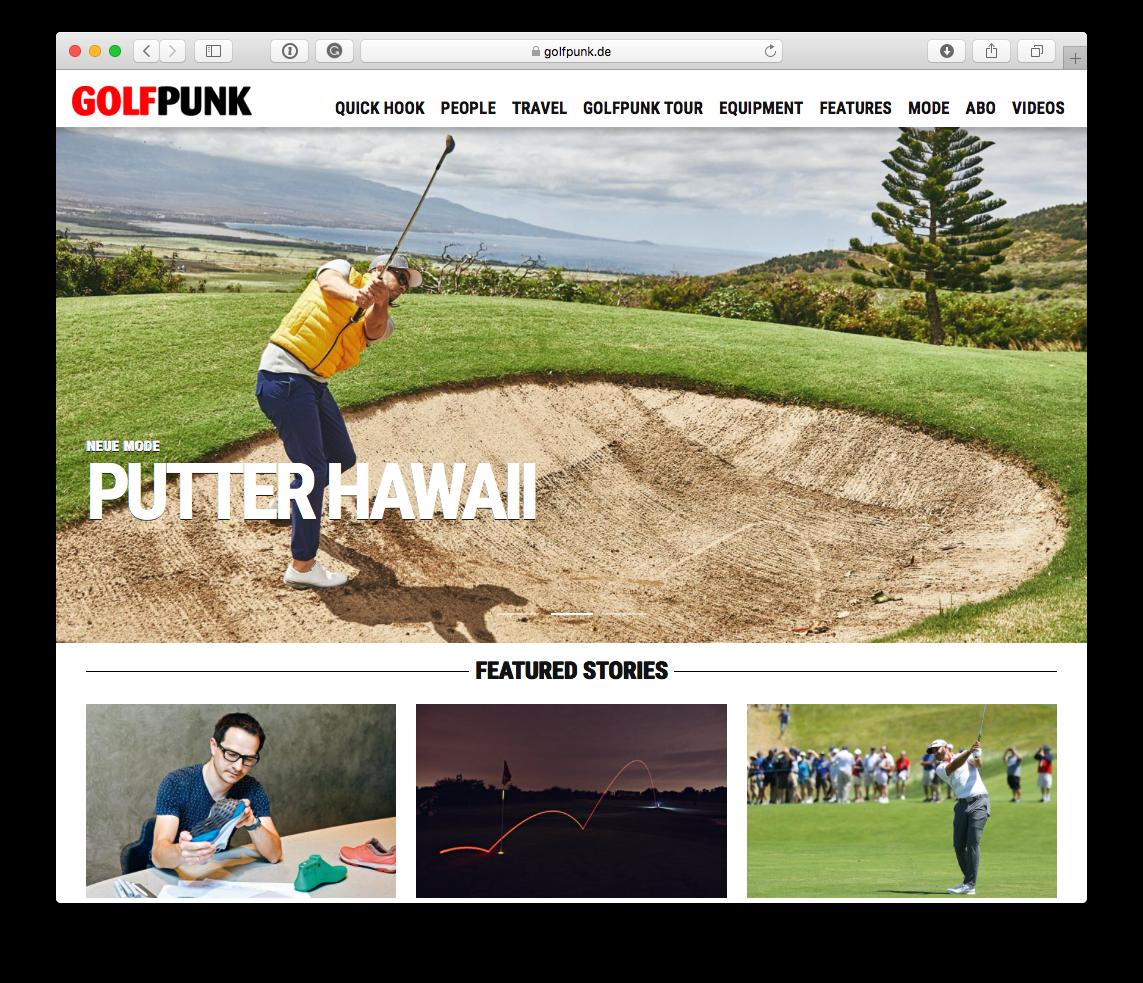 Julius Geis, Mike Meyer, GolfPunk, Maui, King Kamehameha Golf Club