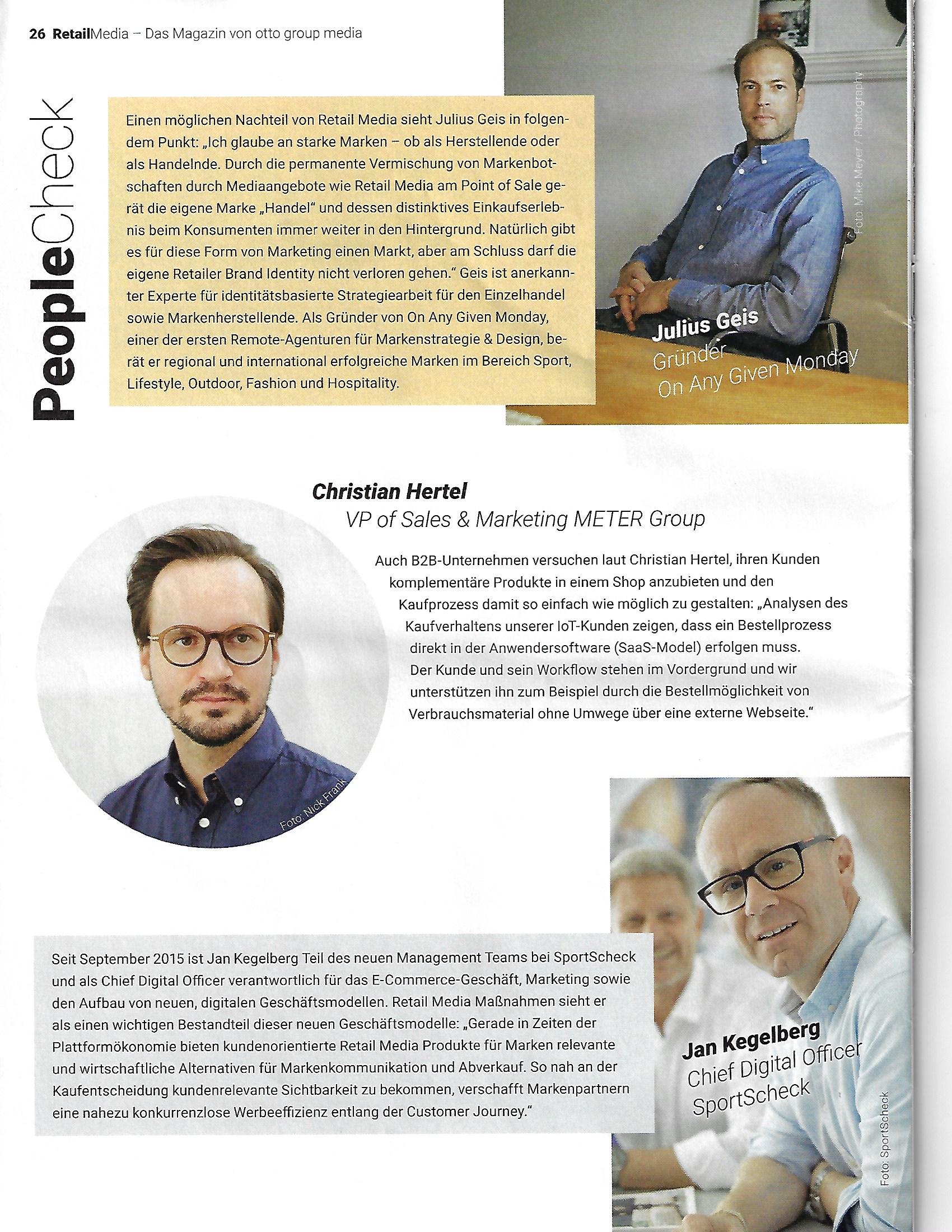 © RetailMedia - Das Magazin von otto group media, Page 26