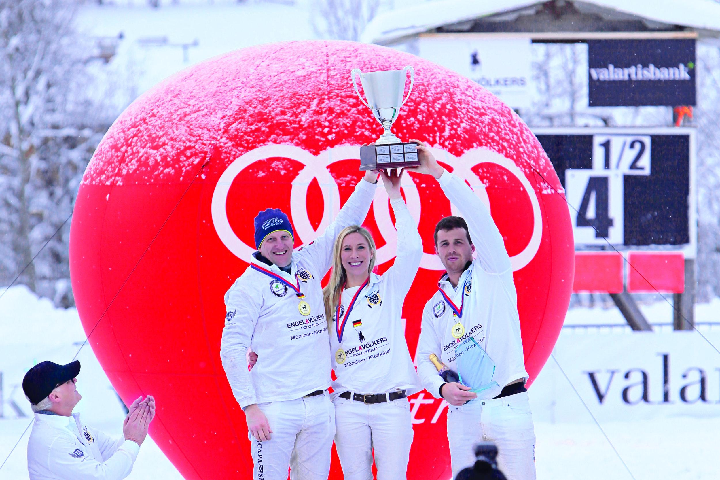 2016 Team Engel & Völkers  - Jonny Good (ENG), Katrina Thomas (ENG), Alec Banner-Eve (ENG)