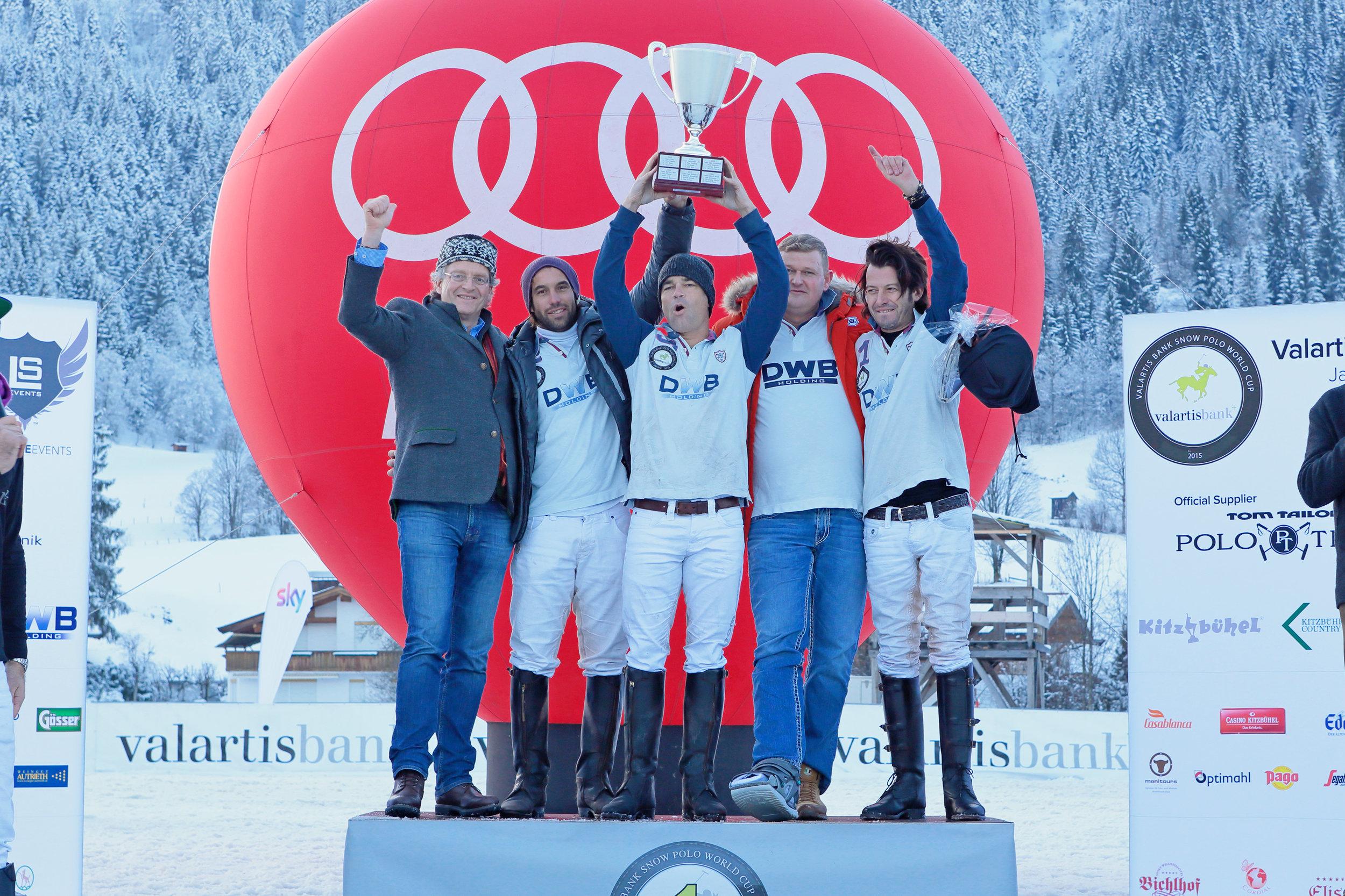2015 Team DWB Holding  - Valentine Novillo Astrada (ARG), Philipp de Groot (NED), Sebastian Schneberger (ARG)