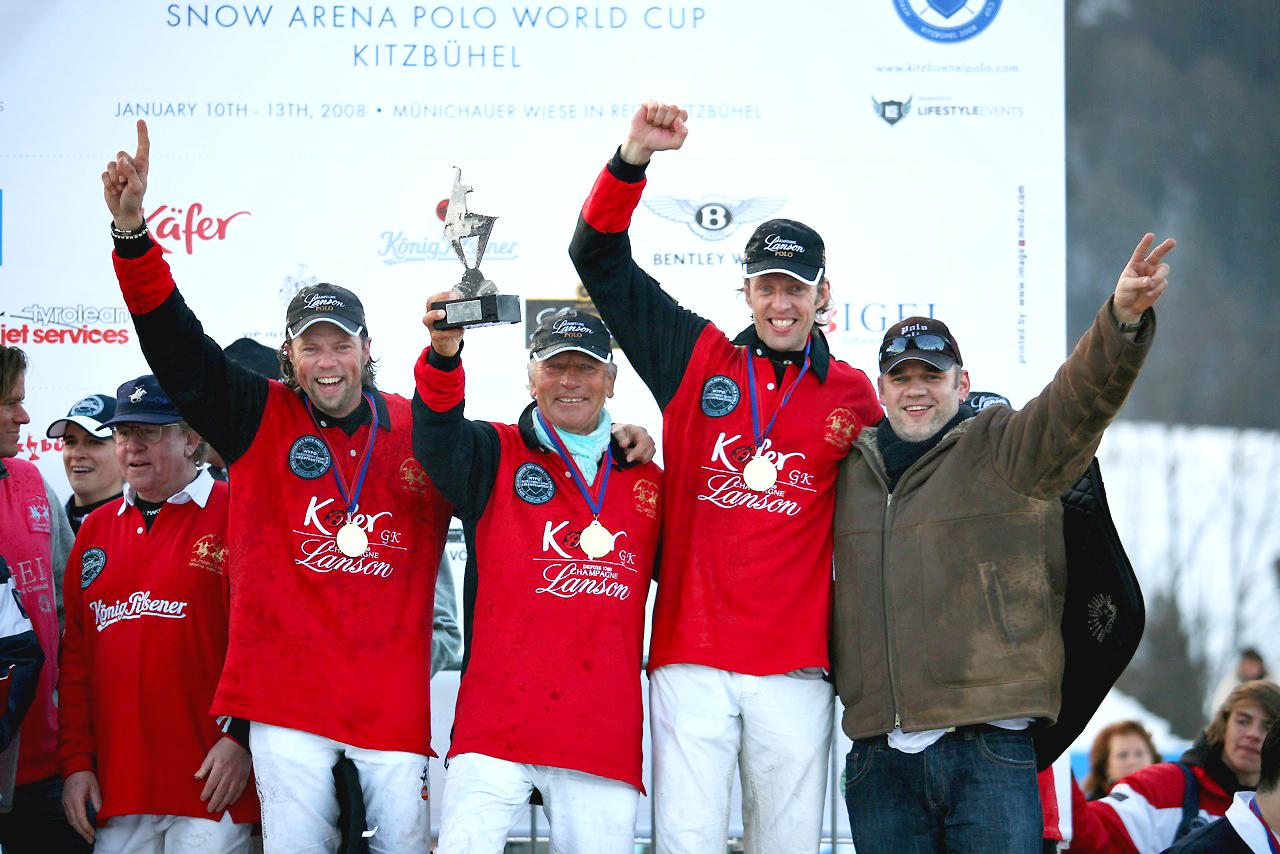 2008 Team Käfer/ Lanson  - Thomas Winter (GER), Uwe Schröder (GER), Christopher Winter (GER)