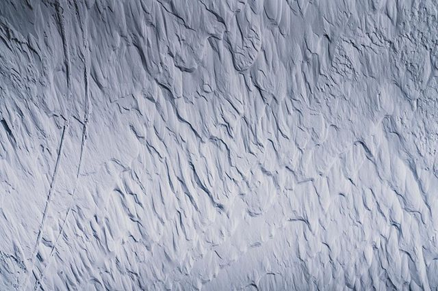 Fresh, wind carved, styrofoam summit turns: 💯.