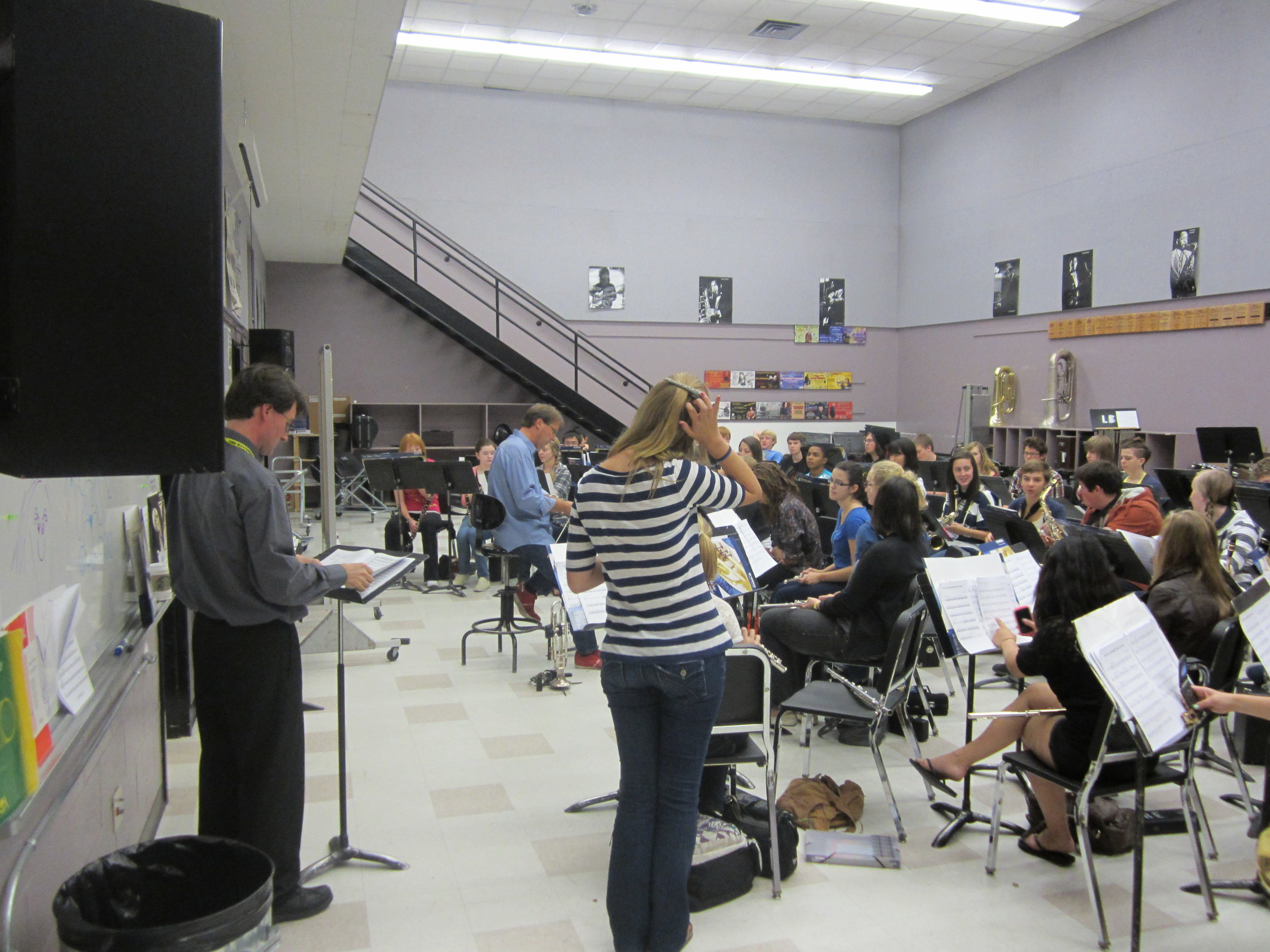 Ken, Ross and Symphonic Band.JPG
