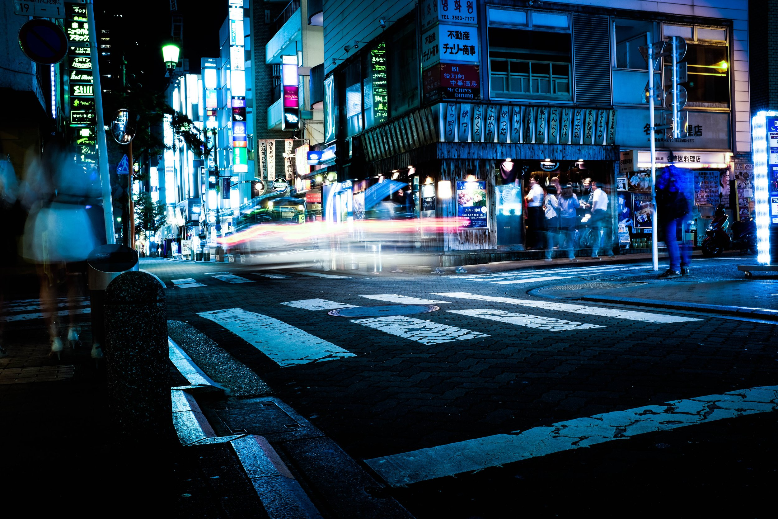 AFTER SUNSET, JAPANESE YOUTH GO TO IZAKAYAS. CREDIT: ALEX KNIGHT / SHUTTERSTOCK
