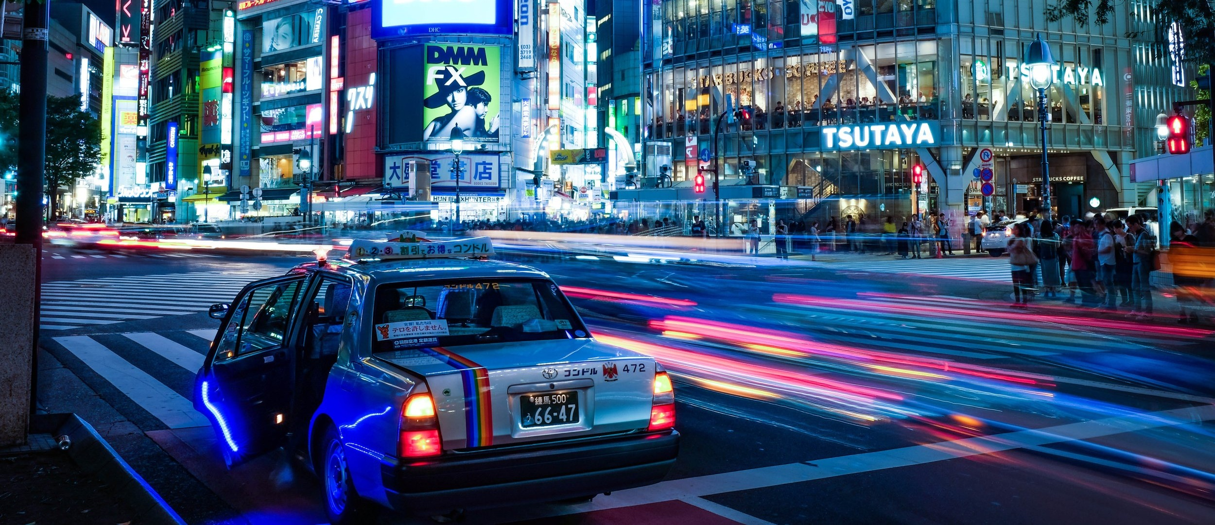 TOKYO LIGHTS AT NIGHT. CREDIT: ALEX KNIGHT / SHUTTERSTOCK