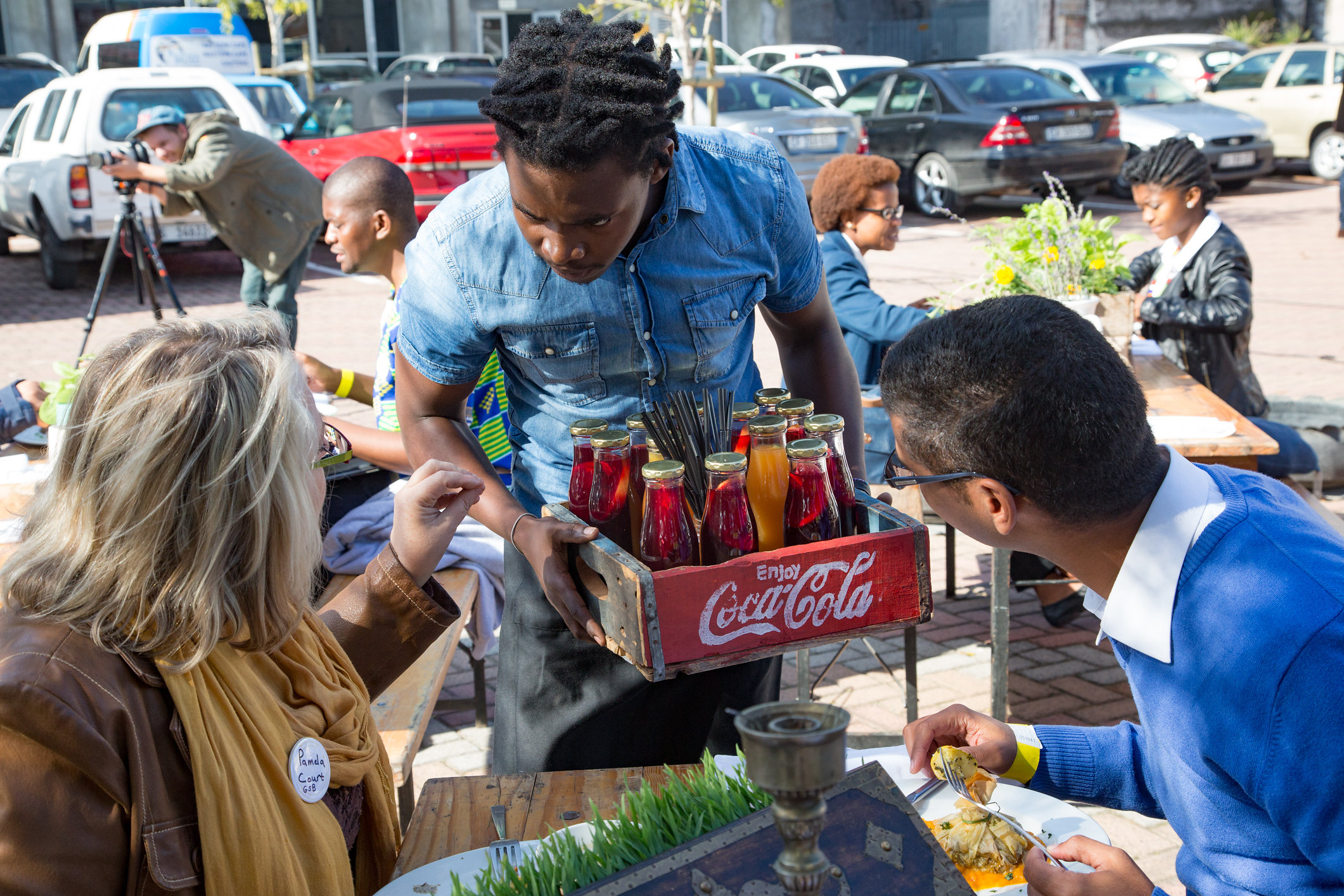 A FOOD TRUCK EVENT BY 4ROOMED. CREDIT: 4ROOMED EKASI CULTURE