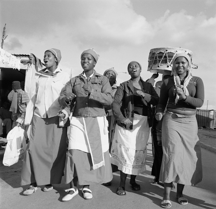 TOWNSHIP WOMEN EXPRESS THEMSELVES. CREDIT: ANNE REARICK