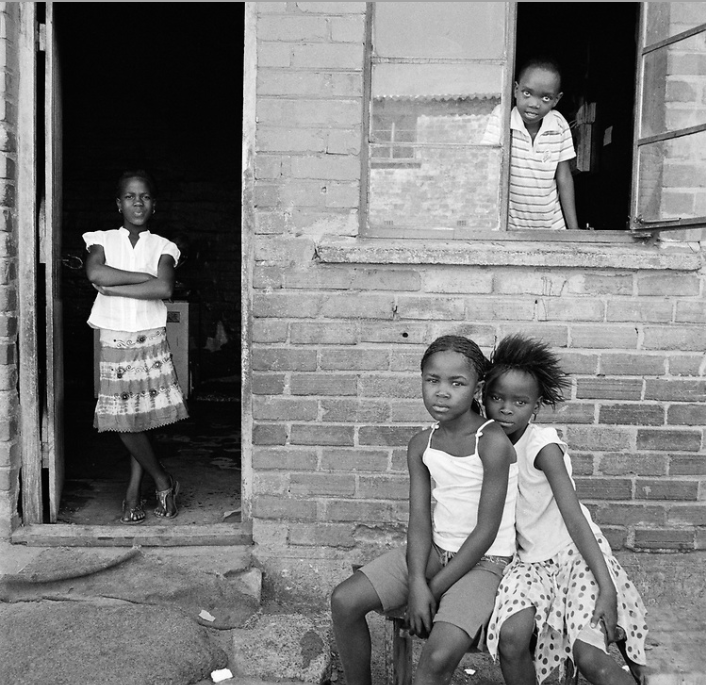 CHILDREN FEATURED IN  TOWNSHIP  (2016). CREDIT: ANNE REARICK.