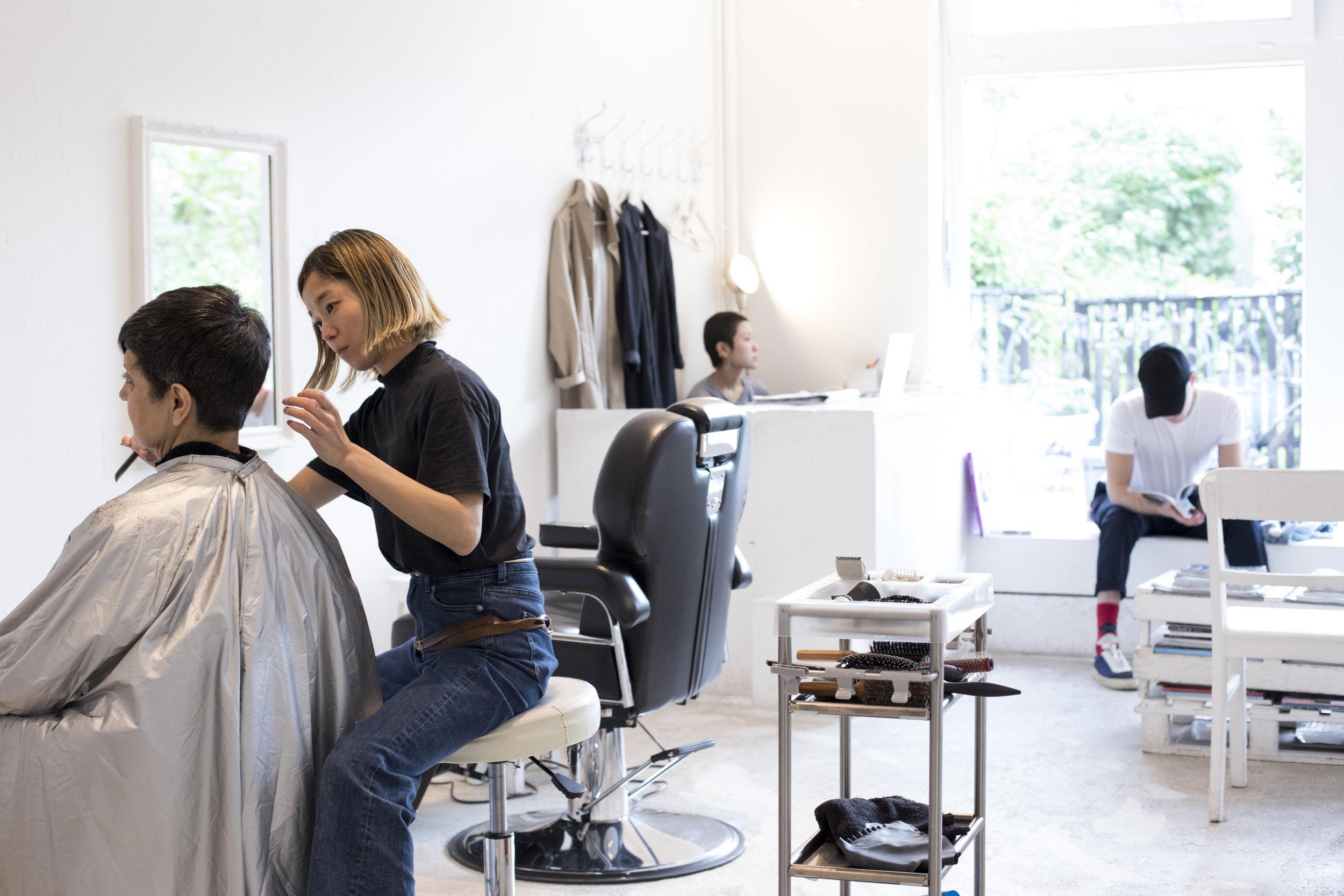 JAPANESE HAIR SALON TICRO.DE. CREDIT: HARIT SRIKHAO FOR LURE