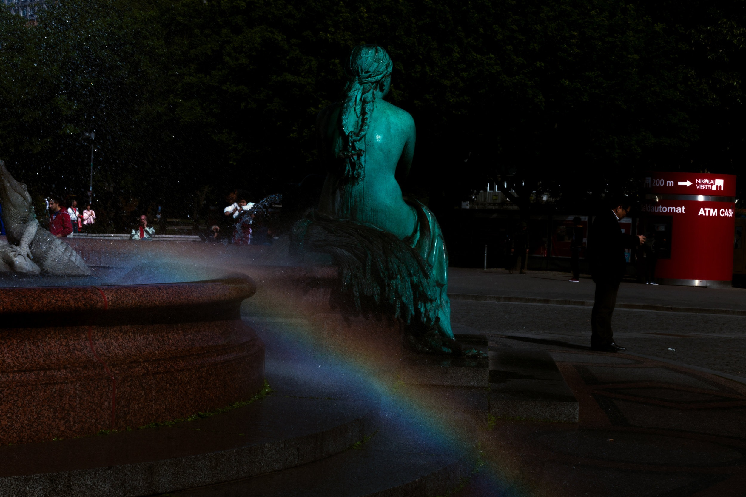 THAI ARTIST HARIT SRIKHAO CHASES MIDNIGHT RAINBOWS IN BERLIN. CREDIT: HARIT SRIKHAO FOR LURE