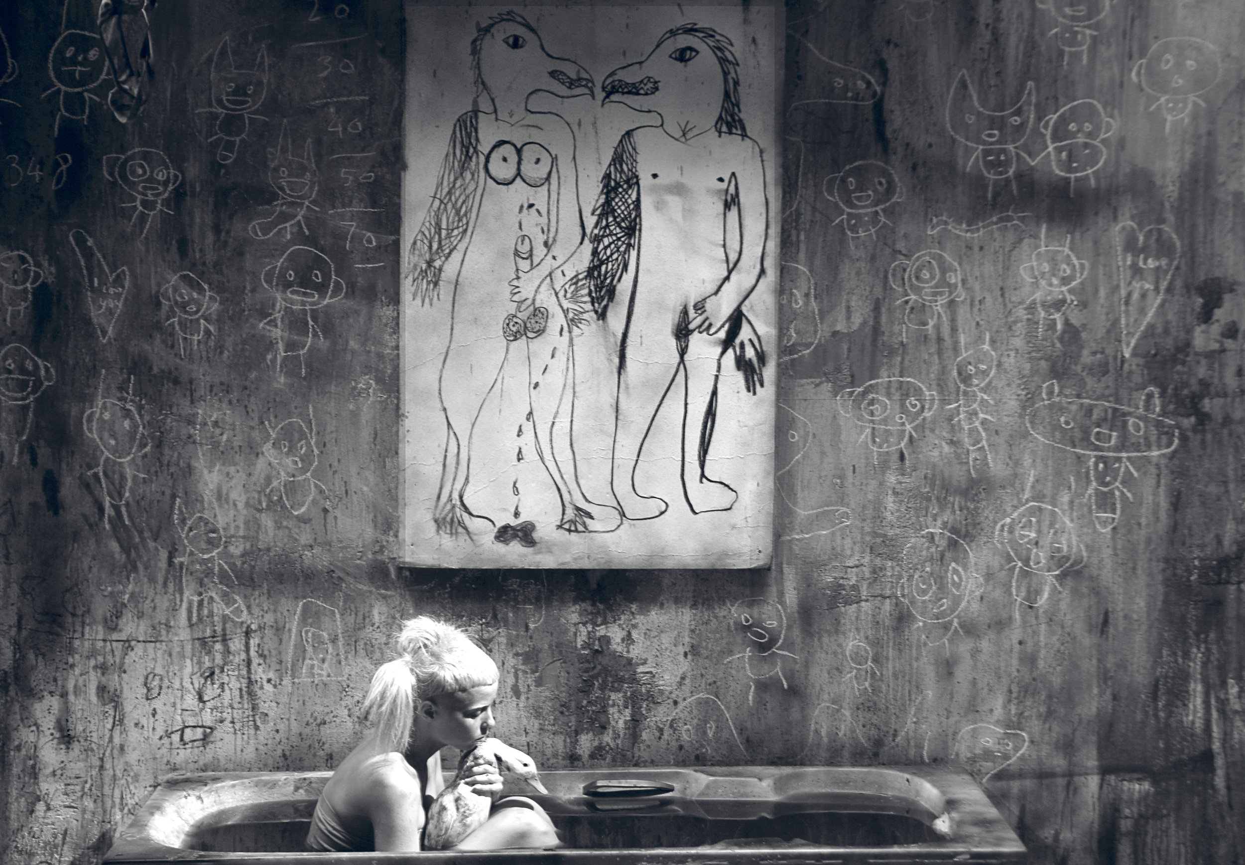 BATH SCENE (2012). CREDIT: ROGER BALLEN