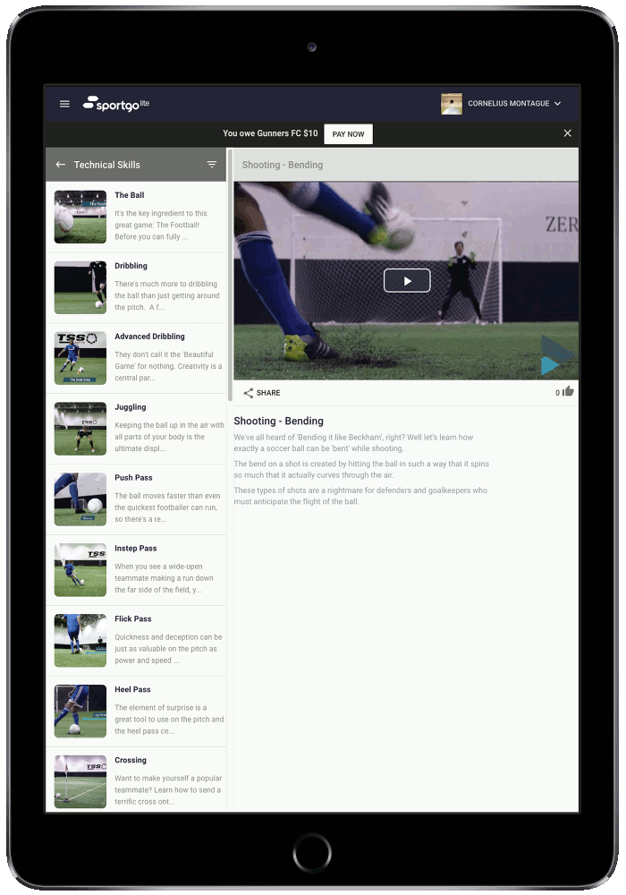 Skill Videos - Enhance yours teams skill and strategy with hundreds of HD and on-demand videos featuring today's leading pros.
