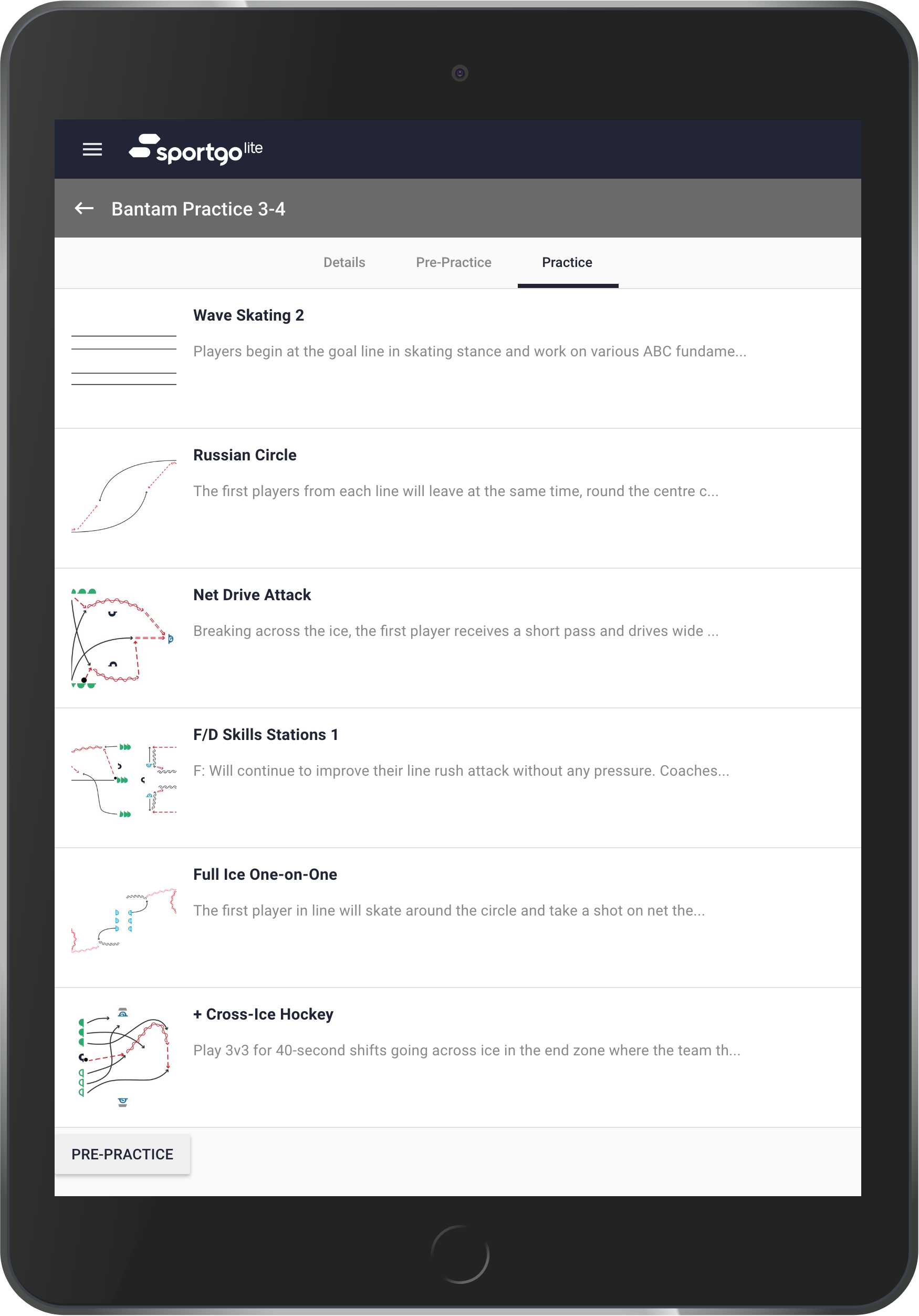 Practice Plans - Streamline your team's training with highly personalized practice plans designed by today's best coaches.