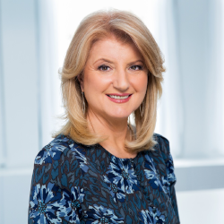 """Arianna Huffington   """"How To Be Well is exactly what it says: an essential manual for thriving in the modern world. It should be on every nightstand."""""""